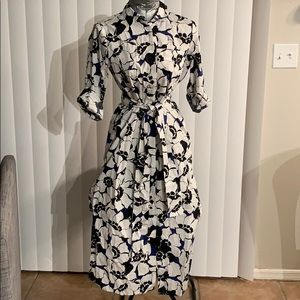 Who What Wear Floral shirt dress
